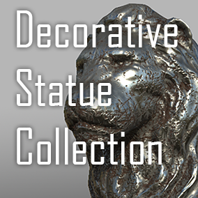 Decorative statue collection