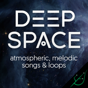 Atmospheric, dark, and melodic songs & loops from outer space