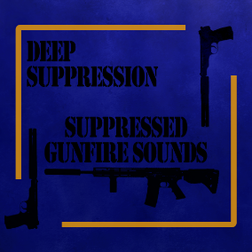 This is a sound effect pack for suppressed versions of various gunfire sounds, great for games where you can configure your weapon to use a suppressor.