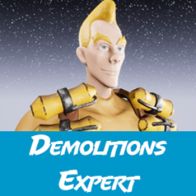 This Demolitions Expert is ready to frag it up in your game!