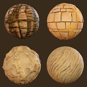 8 desert materials