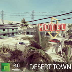 Desert Town is a high quality nature pack with over 200 assets to build a beautiful and lush nature scene.