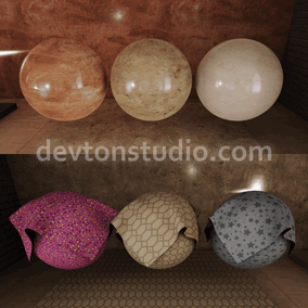 36 Materials with 103 seamless 4k textures