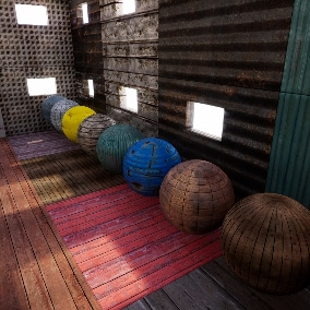 36 Materials with 133 seamless 4k textures.