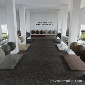 42 Materials with 123 seamless 4K textures.