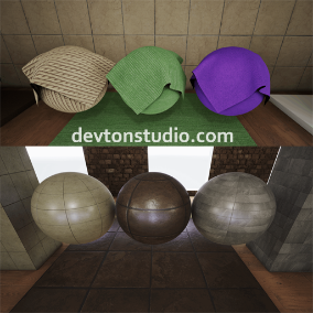 36 Materials with 103 seamless 4k textures.