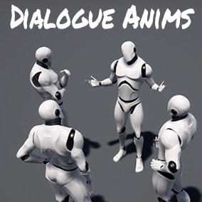 Collection of dialogue animations