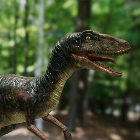 The dinosaur package includes nine dinosaurs and basic animations.