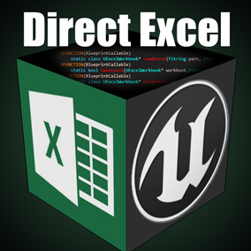 This plugin provides you with Blueprints and C++ to read & write Excel.xslx file data directly.