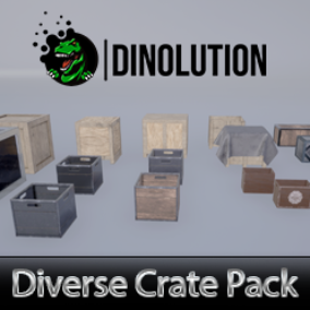 This Pack contains  8 crate assets with different textures at 2048 x 2048 texture resolution .