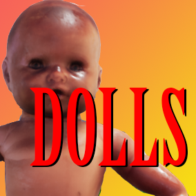 7 doll characters with Animations, Blueprints, and FX.