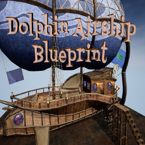 Want to get around your adventure game in style? Check out the Dolphin class airship models from DDDesigns.
