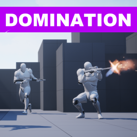 Domination mode with all necessary features and main menu.