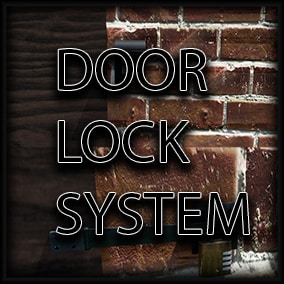 A little Door Lock System with ID verify, combination lock, code lock and key lock