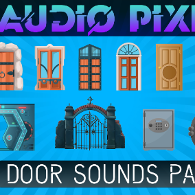 The door sounds effects pack you'll need for any kind of videogame.