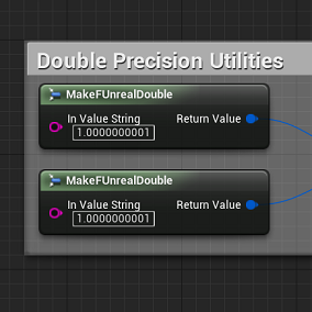 Double precision variables with blueprints!