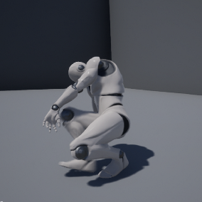 12 animations for the Unreal Epic Skeleton