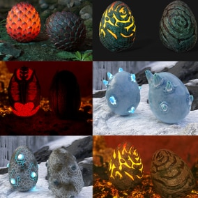 20 Dragon Eggs