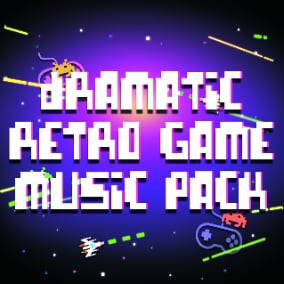 Retro, arcade music for nostalgic games in action style.