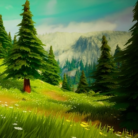 The next collection of AAA quality assets to build next-gen stylized environments.nature environments in minutes!