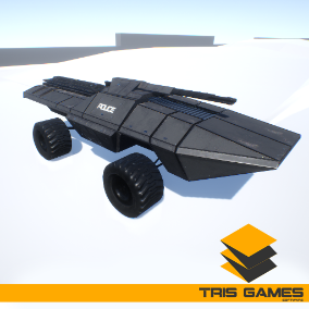 High quality Drivable Futuristic Sci-Fi Vehicle Pack