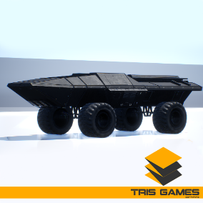 High quality Drivable Futuristic Sci-Fi Vehicle Pack