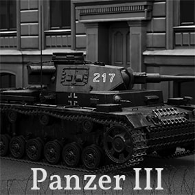 A driveable World War 2 Panzer III