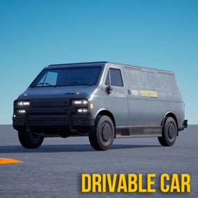 Drivable car CyberVan
