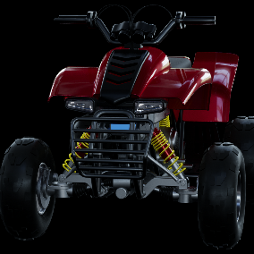 This highly detailed model of ATV has all textures and materials.  It is ready to use, just put it into your scene.Now with multiplyer support