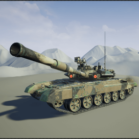 Fully functional main battle tank