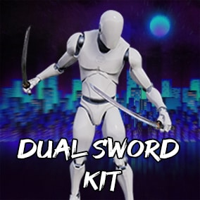 38 Dual Sword Animation Set