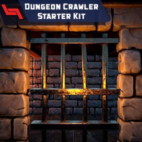 Dungeon Crawler Starter Kit is a gameplay template for grid-based exploration games.