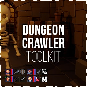 Packed with everything you need to make a first-person grid-based dungeon crawler