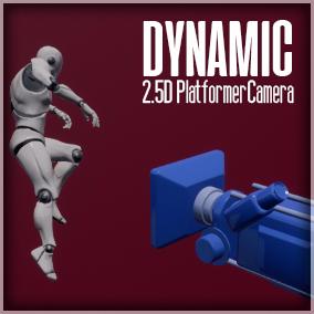 A camera system used for 2.5D platform games