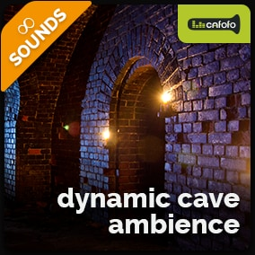 Generate endless variations of ambiances suitable for caves & dungeons, controlling dynamic sound layers and textures.