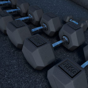 Dynamic gym discs and assets. Change the letters the way you want. Automatically calculates the weight of the current weight disc. Substance plugin needed