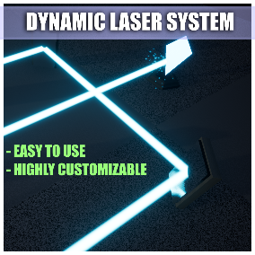 This asset pack allows you to easily implement fully dynamic lasers into your project!