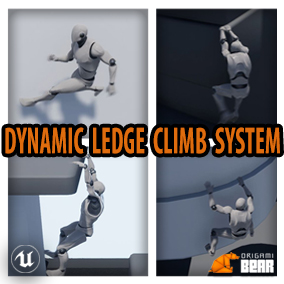 Dynamic Ledge Climbing and Movement System