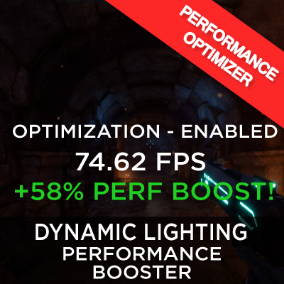 The Dynamic Lighting Portal System provides an easy way to optimize dynamic lighting performance in large levels. Optimization is the key!