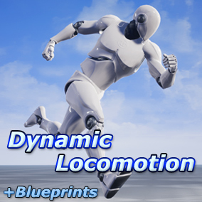 A set of 27 movement animations (walk, run, jump, etc) with Blueprints to provide dynamic, stylized locomotion.
