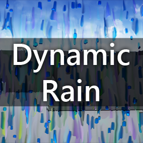 Fluid motion pseudo simulation system for creating rain, splashes, and other similar screen effects.
