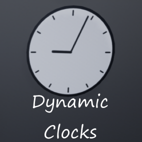 4 types of clocks, easy to configure
