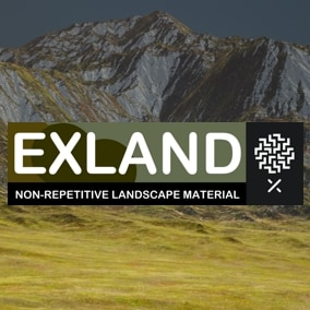 Exland Non-repetitive landscape material