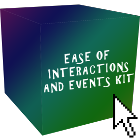 This kit allows you to add interactions and events to any game with extreme ease and customization. Equip with a Subtitle Display Trigger Volume, Objective Changer Trigger Volume, Actor Affect Trigger Volume, and much more.