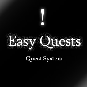 Quests system is easy to use and expand. Make your own quests now with ease!