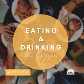 A collection of 100+ eating and drinking sound effects.