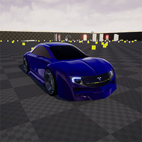 Eco Concept Car driveable + autodrome