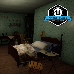 "From developer Giant Sparrow Games and publisher Annapurna Interactive, Edith Finch: Edie's Room is a collection of high quality meshes, textures and materials from the 2017 release, ""What Remains of Edith Finch""."