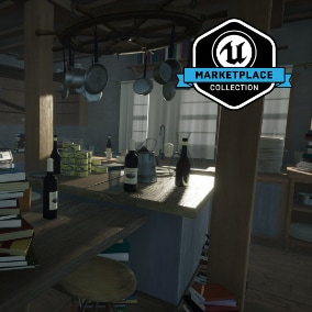 "From developer Giant Sparrow Games and publisher Annapurna Interactive, Edith Finch: House Common Areas is a collection of high quality meshes, textures and materials from the 2017 release, ""What Remains of Edith Finch""."