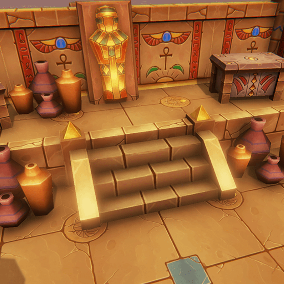 Stylized Egypt Tomb Dungeon